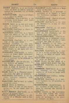 Halloween in the Dictionary