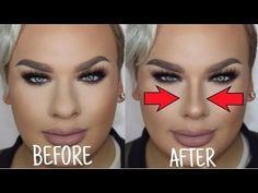 HOW TO STOP FOUNDATION RUBBING OFF YOUR NOSE!   OILY SKIN TRICKS! - YouTube