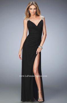La Femme 22158 | La Femme Fashion 2015 - La Femme Prom Dresses - La Femme Short Dresses