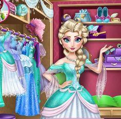Play Frozen Elsa's Closet Game