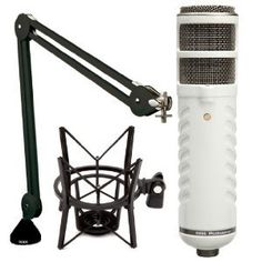 Rode Podcaster Booming Kit: Podcaster, PSA1 Arm, and PSM1 shock mount  http://www.lookatcamera.com/rode-podcaster-booming-kit-podcaster-psa1-arm-and-psm1-shock-mount/