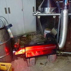 ● バーベキューコンロ改造ロケットストーブのテストⅡ|趣味工作の便利屋:あなたの困っているものづくり・試作を応援します