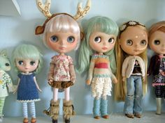 a little bit of Blythe shelf...