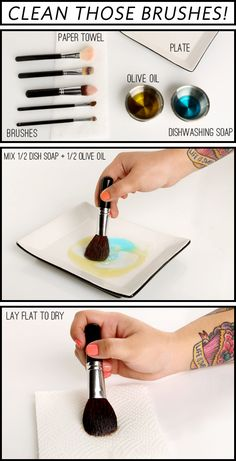 LuLu*s How-To: Cleaning Your Makeup Brushes!