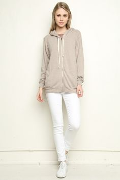Brandy ♥ Melville | Christina Hoodie - Clothing