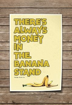 Arrested Development Print Quote Typography Poster by soccm84