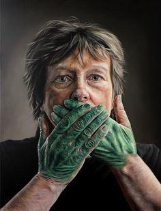 Hyperreal Paintings by Kyle Barnes | iGNANT.de
