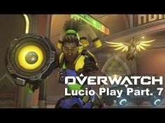 VJ Troll's game video: Overwatch KR Server - Lucio Play Part7. (오버워치) 7라운...
