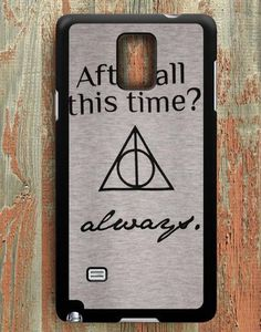 Harry Potter Deathly Hallows Samsung Galaxy Note 4 Case