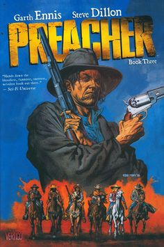 Preacher Jesse Custer continues his dark journey to find God, accompanied by his gun-toting girlfriend and Irish vampire buddy. In the continuing saga of the bizarre adventures of faithless Texas prea