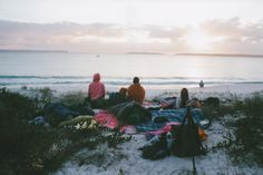s-lc: That time we (illegally) slept on the beach & woke up to this. Pentax K1000 need moments like these