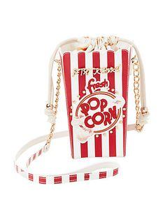Betsey Johnson KITSCH BUTTER ME UP CROSSBODY Popcorn Box Purse
