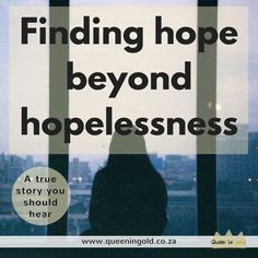 Ever felt hopeless? Read this testimony of finding hope beyond hopelessness. Inspire Others, Stand Up, True Stories, Felt, Queen, Reading, Memes, Blog, Get Back Up
