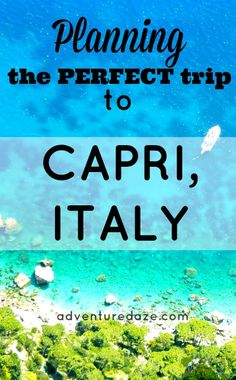 The complete guide to Capri Italy travel. From where to stay to what activities to do, we have you covered in this Capri travel guide! Positano, Cool Places To Visit, Places To Go, Palermo, Italy Vacation, Italy Trip, Italy Tours, Travel Photographie, Pisa