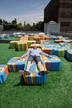 Project - Pool Noodle Rooftop - Architizer