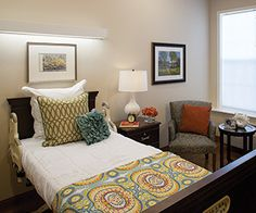 Decorate A Nursing Home Room To Create A Comfortable Cheerful Space Most Nursing Home Rooms