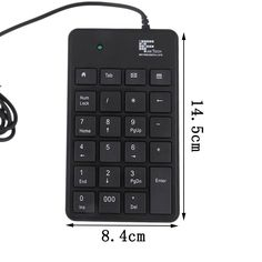 New Mini 23-Keys USB Number Pad Keypad Numeric Keyboard For Laptop Notebook Free Shipping