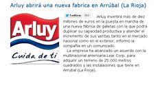 Arluy abrirá una nueva fabrica en Arrúbal (La Rioja)