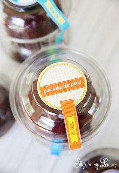 You Take the Cake! Free printable teacher appreciation gift idea!
