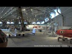 Élévation du Vampire au Musée de l'aviation et de l'espace du Canada