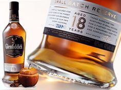 Glenfiddich Small Batch Reserve 18 Year Old - Cigar Journal Glenfiddich Whisky, Legal Drinking Age, Scotch Whisky, Distillery, Bourbon, Whiskey Bottle, Drinks, Cigars, Classy