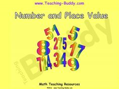 Number and Place Value Grade 2 teaching resources