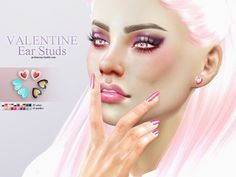 Sims 4 CC's - The Best: Earrings by Pralinesims