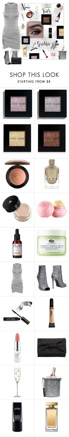 """#PolyPresents: Sparkly Beauty"" by ljano ❤ liked on Polyvore featuring beauty, Bobbi Brown Cosmetics, MAC Cosmetics, Lancôme, Joe Fresh, Eos, Skin & Tonic, Origins, WearAll and Pierre Balmain"