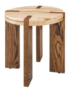Amish Olympic End Table Perfect for a contemporary living room. Create a two tone look with this Amish furniture that's customized to match your living room. Handmade Wood Furniture, Modern Wood Furniture, Wood Furniture Living Room, Amish Furniture, Furniture Plans, Contemporary Furniture, Diy Furniture, Furniture Design, Diy Wood Projects