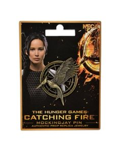 NECA The Hunger Games: Catching Fire Mockingjay Pin Prop Replica NECA http://smile.amazon.com/dp/B00FF0VCAW/ref=cm_sw_r_pi_dp_Ug4tub11KT89D