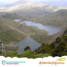 """#AWorldofDifference This picture was taken from the summit of Snowdon ,It was my Great Aunts funeral that day which was in America so my own tribute at the exact time was to be at the top where I placed a bunch of heather in a stone, she used to visit UK every year she was 91 . My cause is Croft House Cat Sanctuary"" #Travel #Holiday"