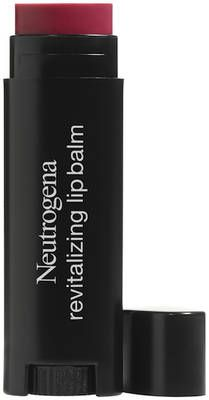 Neutrogena's Revitalizing Lip Balm is a sheer, tinted lip balm formulated with SPF 20. This lip balm is also especially moisturizing, proven to soften lips and improve appearance, as well.