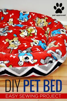 FREE TUTORIAL! Rob from @mansewing with @missouriquiltco made an easy-to-follow sewing tutorial for a pet bed with #Cuddle! It's for his dog, Winston. Winston chose Ruff-Ruff Cuddle Scarlet http://bit.ly/1TwVKEG and Zig Zag Cuddle Red/Black/Snow http://bit.ly/1P0sq6d. It's also filleld with POLY-FIL from @fairfieldworld so it's extra cushy. Click on the link here http://bit.ly/1PPTYPg to watch the video. #DogBed #CatsonCuddle #PetBed