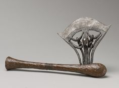 Axe | Songye peoples | The Metropolitan Museum of Art Copper Wood, Twisted Metal, Iron Work, Green Man, Museum Of Fine Arts, Congo, Metropolitan Museum, Art History, Artwork