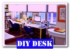 http://theofficedesigns.net/uncategorized/diy-home-office-desk-pinterest-classic/ - Diy Home Office Desk Pinterest Classic