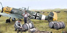 beautifulwarbirds: Bf-109