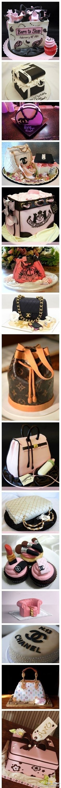 the type of cakes woman of fashion will love...