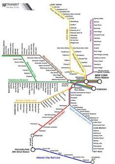 New York City Metro Map