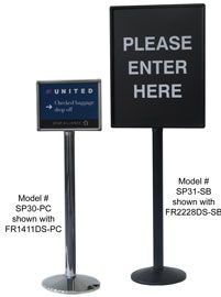 NEW - 3' Tall Sign Posts
