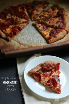 Simply Perfect Homemade Pizza Dough