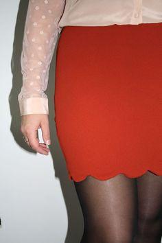 Patron gratuit de la jupe Manhattan Anne Ka Couture
