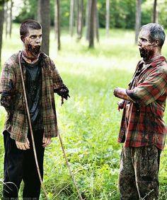 The walking dead season 4 michonnes zombies