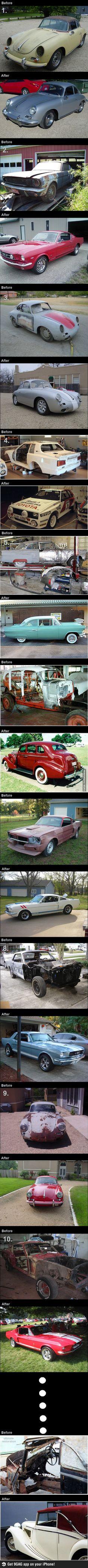 Amazing car restorations