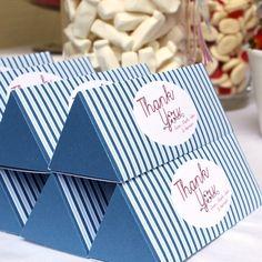 Treat Box  PYRAMID by PolkadotPrintsStudio on Etsy, $16.50