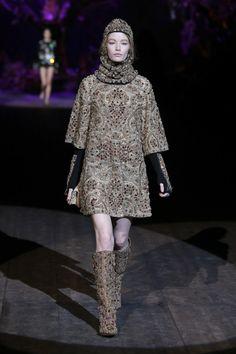 Dolce&Gabbana Winter 2015 Womens Fashion Show