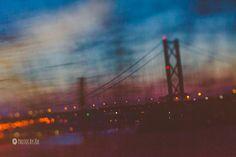 #sunset over the #firthofforth by #PhotosByZoe, via Flickr #edinburgh #bridge #vsco3