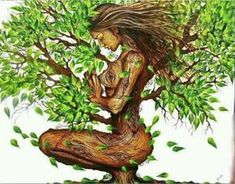 Healthy Affirmations for healing your base chakra: My body supports me in living a creative and happy life. I love every part of my body, every cell is filled with energy and vitality. I am safe. I belong. Meditation, Tree Art, Black Art, Mother Earth, Fantasy Art, Cool Art, Art Drawings, Artsy, Pictures