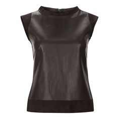 Simply elegant leather top from #PorscheDesign