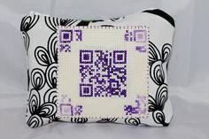 #www.qr-3d.weebly.com #qr #3d #code #crossstitch #purple #sampler QR Code
