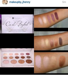 New Carli Bybel palette with BH cosmetics... AKA most dupable palette ever? - Imgur